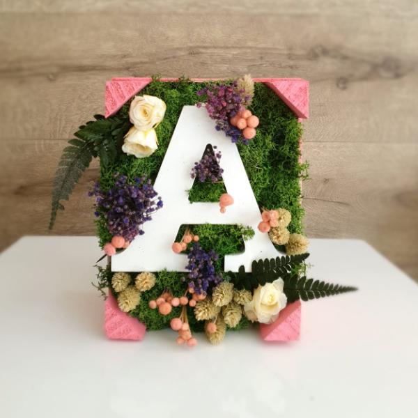 La Pérgola Floristería Almoradí Cajas de letras A
