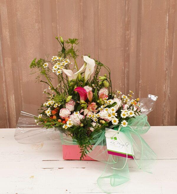 La Pérgola Floristería Almoradí Cajas con Flores -10