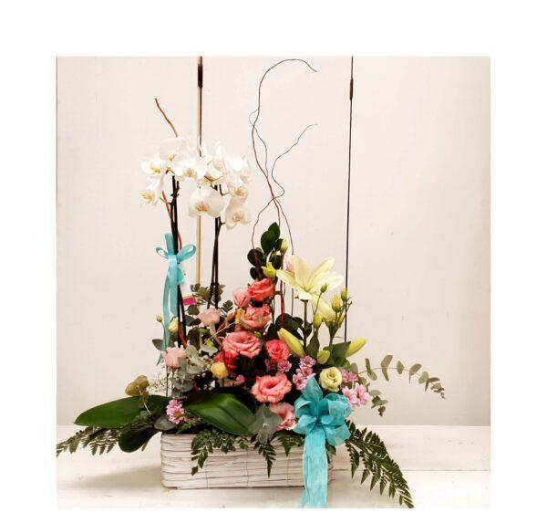 La Pérgola Floristería Almoradí Caja de Flores Aniversarios 1