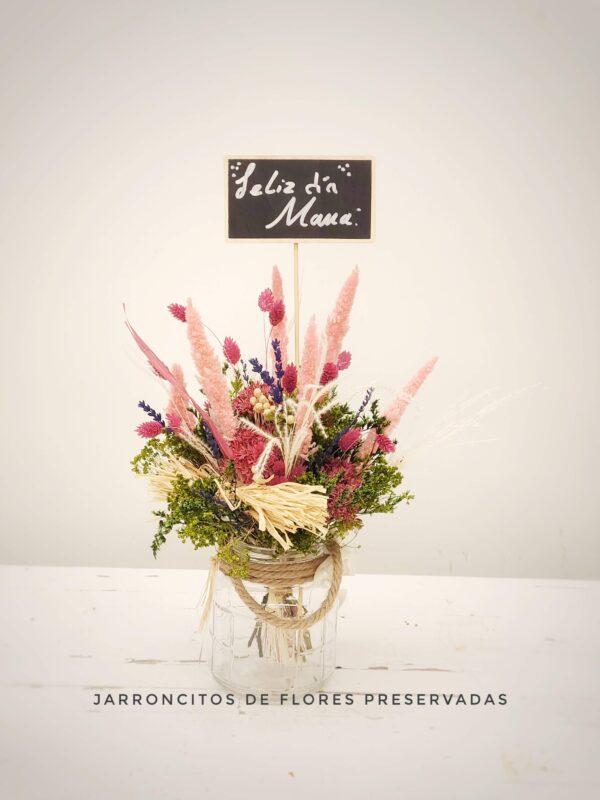 La Pérgola Día de la madre Ramilletes de flores preservadas 1