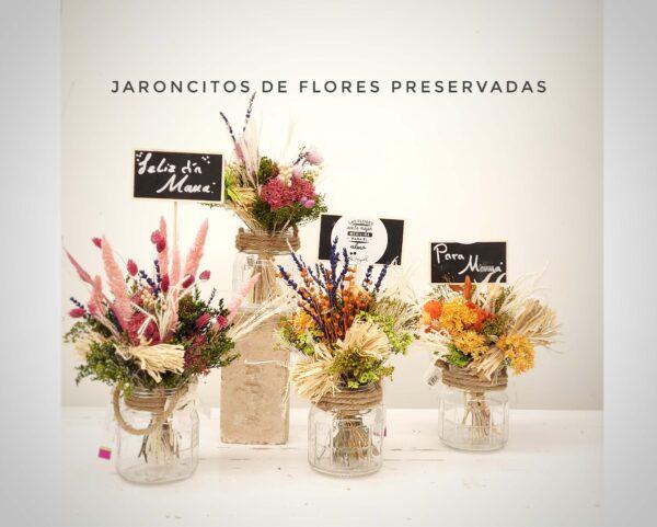 La Pérgola Día de la madre Ramilletes de flores preservadas 3